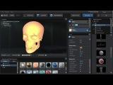 Редактор Материала в 3D Element