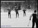Лыжи. Обучение коньковому ходу