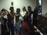 Подготовка к прямому эфиру Детского Евровидения 2008