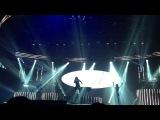 Деми исполняет «Let It Go» на концерте в Канзас-Сити, 23 сентября.